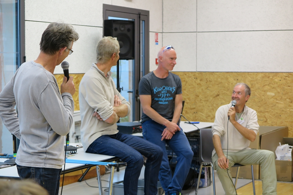 Christophe Fayolle rejoint Jean-Philippe, Jean-Pierre et Patrick.