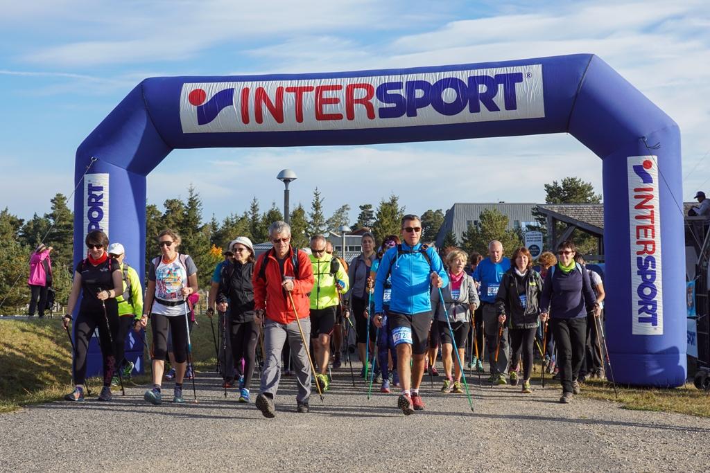 La 16 km : départ du 1er groupe